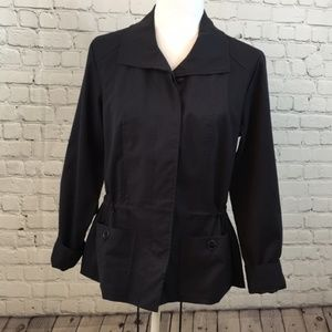 Christopher & Banks lightweight tie-waist jacket